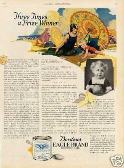 Borden's Eagle Brand Milk (1923)