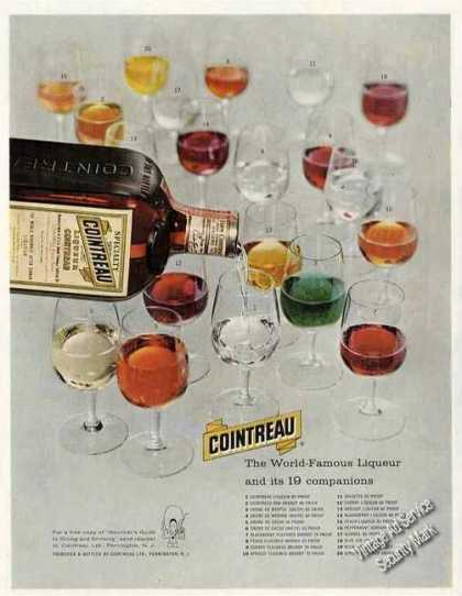 "Cointreau ""Liqueur and Its 19 Companions"" (1957)"