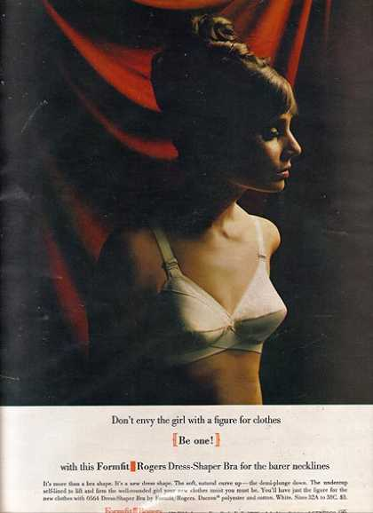 Formfit Roger's Dress-Shaper Bra (1964)