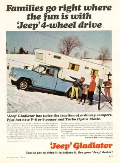 Jeep Gladiator 4 Wheel Drive (1965)