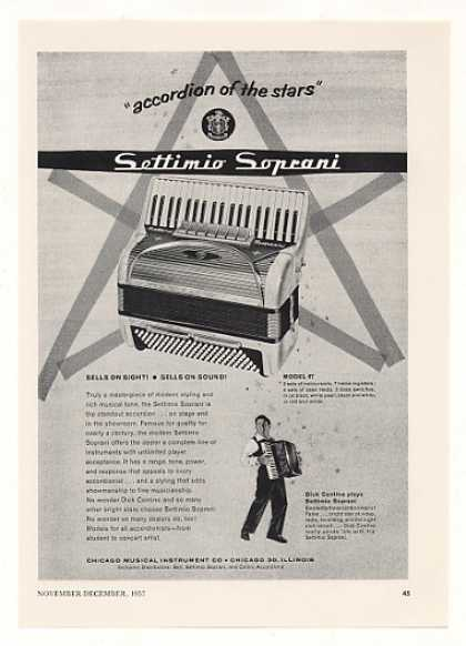 Settimio Soprani Model 67 Accordion (1957)