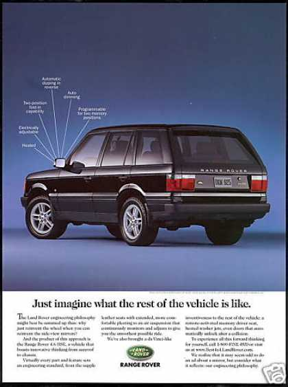 Black Land Range Rover 4WD Air Suspension (1993)