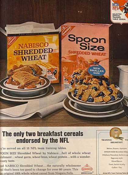 Nabisco's Shredded Wheat (1966)