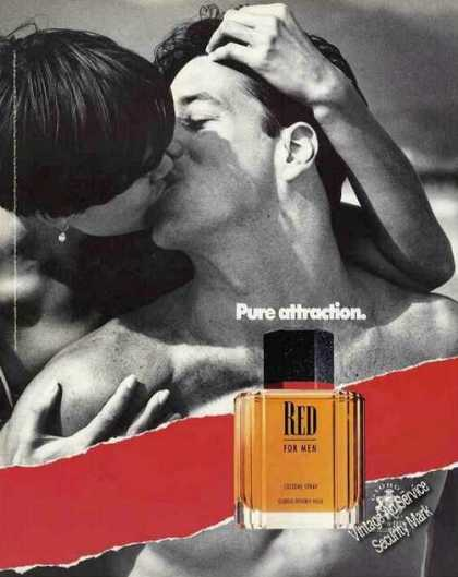Red for Men By Giorgio &quot;Pure Attraction&quot; (1991)