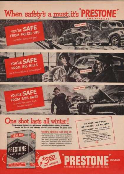 Prestone Anti Freeze (1949)