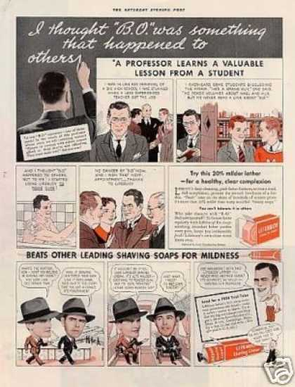 Lifebuoy Soap & Shaving Cream (1936)