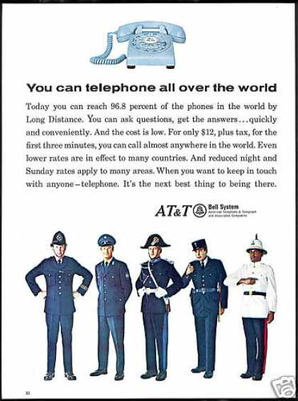 AT&T Bell System Long Distance Telephone (1966)