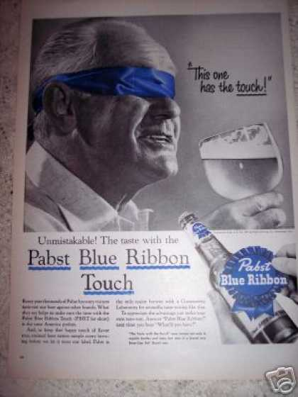 Pabst Blue Ribbon Beer Blindfold Test (1956)