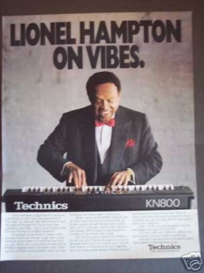 Lionel Hampton Photo Technics Keyboard Promo (1989)