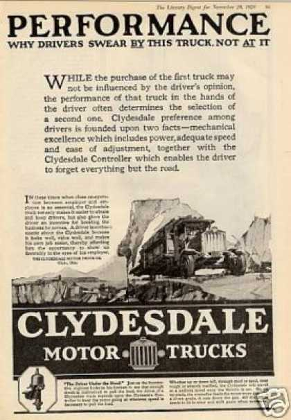 Clydesdale Truck (1920)