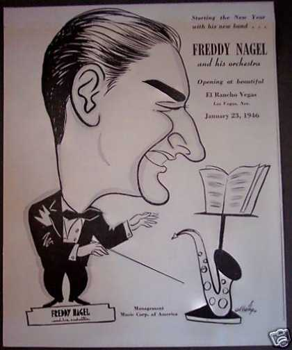 Freddy Nagel and His Orchestra Vegas (1946)