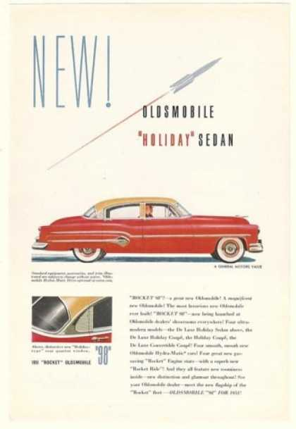 Oldsmobile Holiday Rocket 98 Sedan (1951)