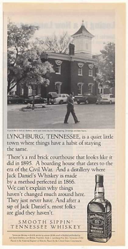 Jack Daniel's Lynchburg TN Courthouse Photo (1995)