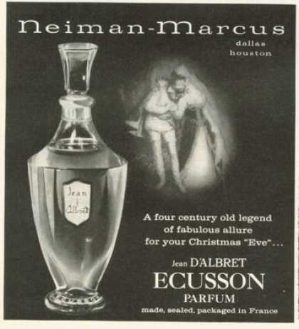 Jean D'albret Ecusson Parfum Bottle (1958)
