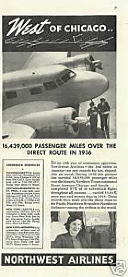 Northwest Airlines West of Chicago (1937)