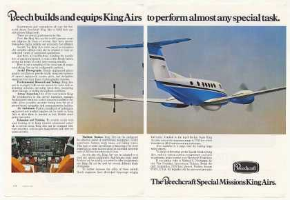 Beechcraft Special Mission King Air Airplane 2P (1979)