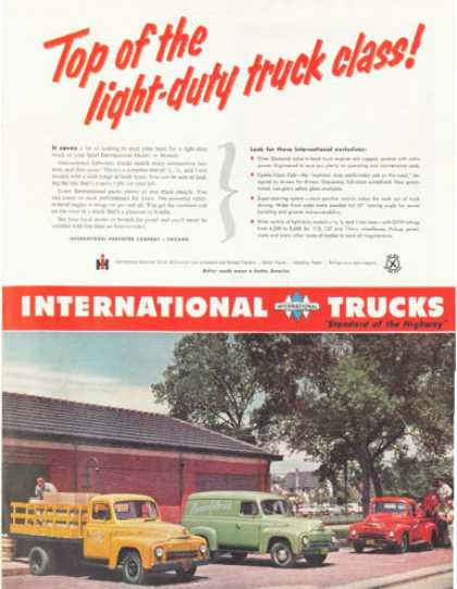 International Panel Pickup Trucks (1952)