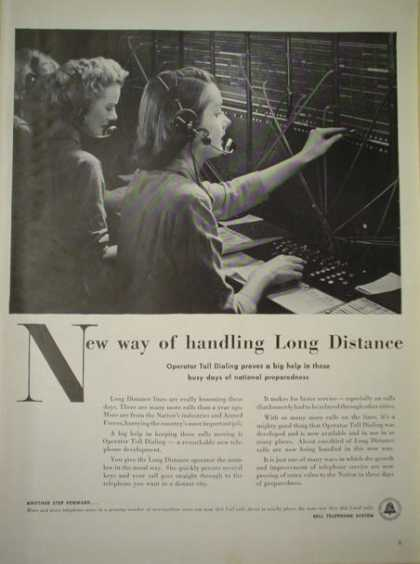 Bell Telephone System Switchboard Operators (1951)