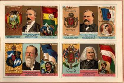 W. Duke Sons & Co. – The Rulers, Flags, Coats of Arms – Image 13 (1888)