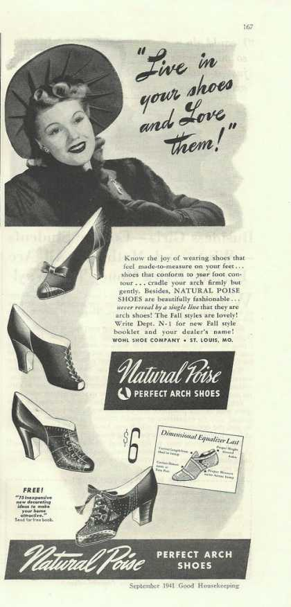 Natural Poise Arch Womens Dress Shoe (1941)