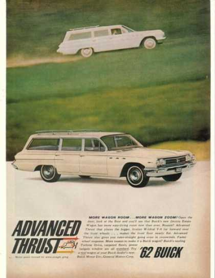 Buick Invicta Estate Station Wagon Adv Thrust (1962)