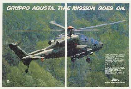 Gruppo Agusta Helicopter Mission Goes On (1987)