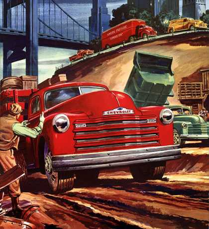 Chevrolet Valve-in-Head Trucks (1952)
