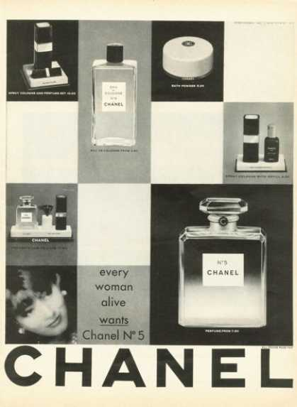 Chanel No 5 Pefume Bottle (1961)