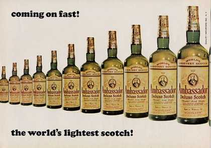 Ambassador Scotch the World's Lightest... (1964)