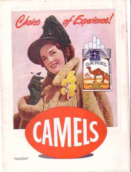 Camels Cigarettes – Choice of Experience (1948)