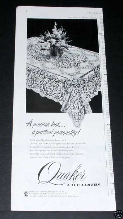 Quaker Lace Tablecloth (1951)