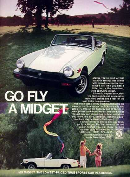 MG Midget Convertible (1977)