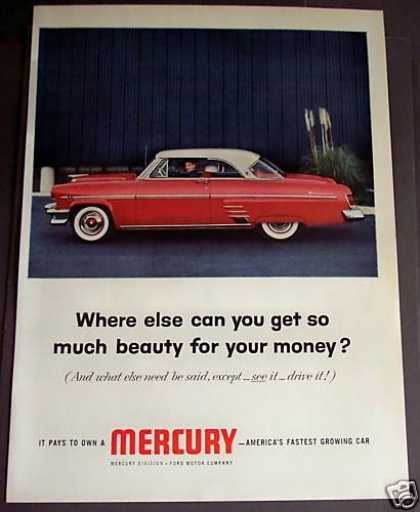 Ford Mercury Car Auto (1954)