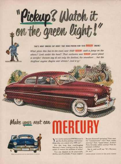 Pickup Wat It On the Green Light Mercury C (1949)