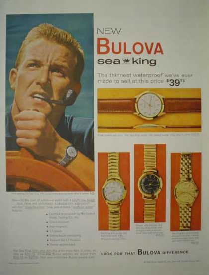 Bulova Sea King Watch Watches (1959)