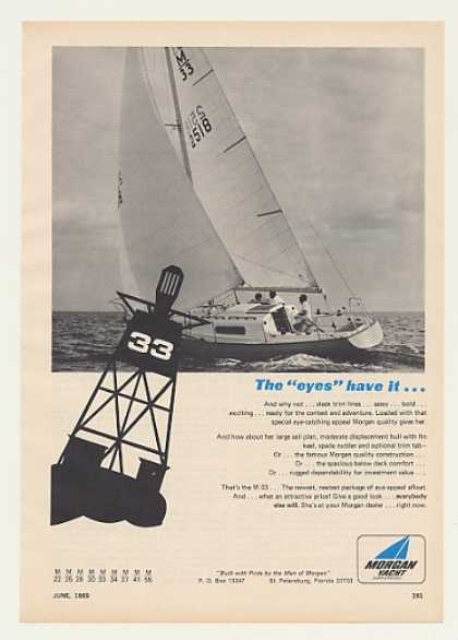 Morgan Yacht M-33 Boat Photo (1969)