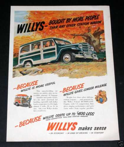 Willys Station Wagon, Hurricane (1951)