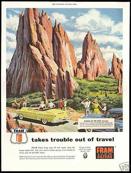Colorado Travel Garden of The Gods Fram Filters (1954)