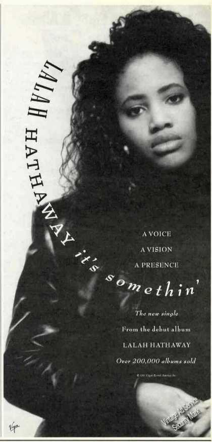 Lalah Hathaway Photo Album Promo (1991)