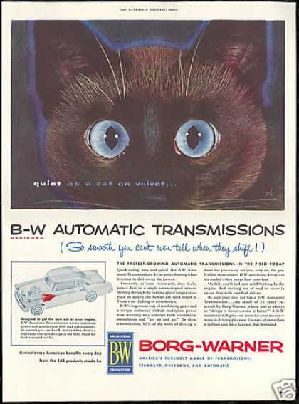 BW Borg Warner Transmission Black Cat (1954)