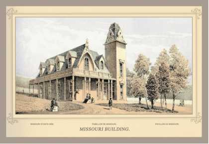 Missouri Building, Centennial International Exhibition (1876)