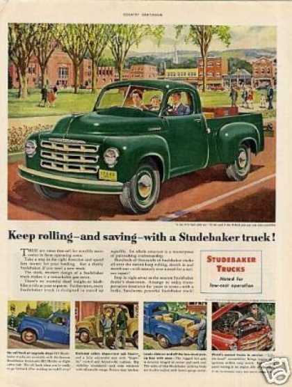 Studebaker Pick-up Truck (1951)
