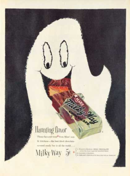 Milky Way Candy Bar Ghost (1954)