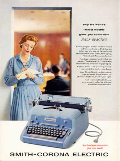 Smith Corona Electric Typewriter (1957)
