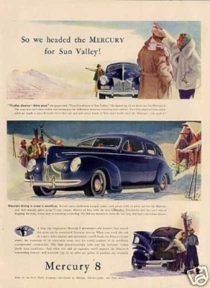 Mercury Eight Car (1940)