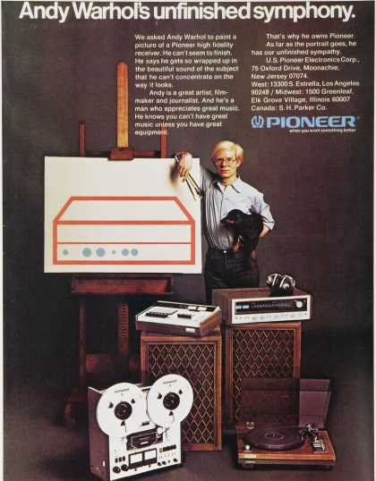 Pioneer: Andy Warhol