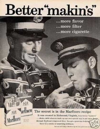 "Marlboro Cigarettes Ad ""Better Makins"" (1959)"