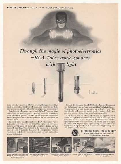 RCA Phototubes Electron Tubes for Industry (1958)