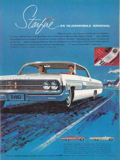 Oldsmobile Olds Starfire Coupe Convertible (1962)