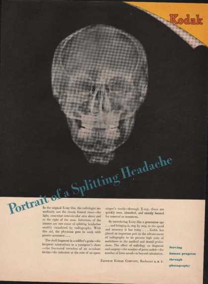 Portrait of a Splitting Headache Kodak (1946)